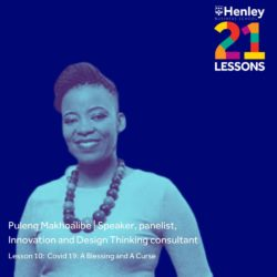 Henley Business School 21 Lessons in 21 Days with Puleng Makhoalibe