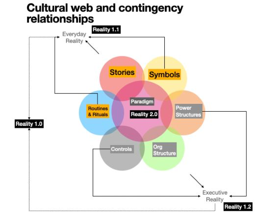 cultural web and contingency relationships
